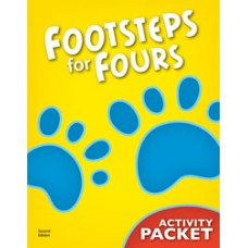 K4 Footsteps for Fours - Activity Packet (Student's Excercise book) -226670 (2nd)