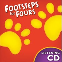 K4  Footsteps for Fours - Listening CD(Teacher's book)-226704 (2nd)