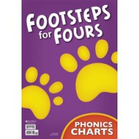 K4  Footsteps for Fours - Phonics Charts & Tree(Teacher's book) -244178 (2nd)