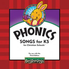 K5 Beginning - Phonics Songs CD(Teacher's book) -192567 (3rd)