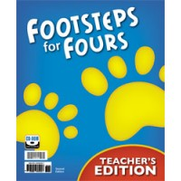 K4 Footsteps for Fours - Teacher's Edition with CD -256263 (2nd) (3 books_