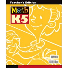 K5 Math - Teacher's Edition with CD(for  teachers)-211268 (3rd)