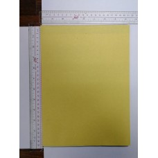 A4 paper with yellow cover