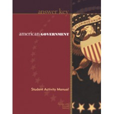 G12 American Government TE for Activity Manual(Teacher's book)-185504