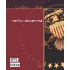 G12 American Government Teacher's Edition(With Test Answer Key 185454)-185439
