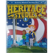 G1 Heritage  Activities Manual Answer Key (3rd ed.)  281477