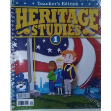 G1 Heritage Teacher's Edition  281501  3rd ed.  (Give away answer 281527)