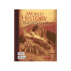 G10 World History Teacher's Edition with CD(With Test Answer Key 225094)-244681