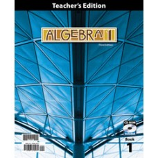 G9 Algebra 1 Teacher's Edition(With Test Answer Key 270587)-270561  3rd ed.