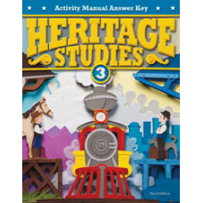 G3  Heritage  Student Activity Manual Answer Key 287268  3rd ed.