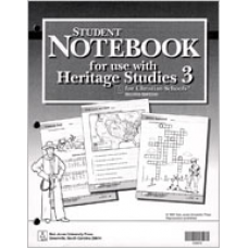 G3 Heritage Student Notebook-105973
