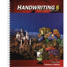 G5 Handwriting Teacher's Edition-122416