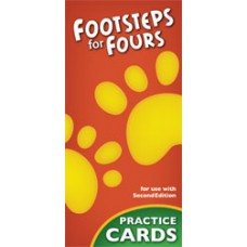 K4 Footsteps For Fours 244186 2nd ed. Practice Cards