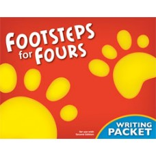 K4 Footsteps For Fours 244202  2nd ed. Writing Packet