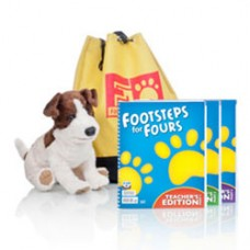 K4 Footsteps For Fours 256263  2nd ed. Teacher's Edition withCD+Max&Bag  (256123+256271)