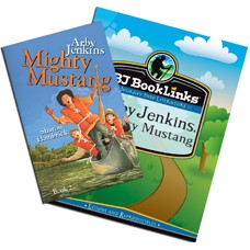 G6 Booklinks Arby Jenkins, Mighty Mustang Set (guide & novel) 124412